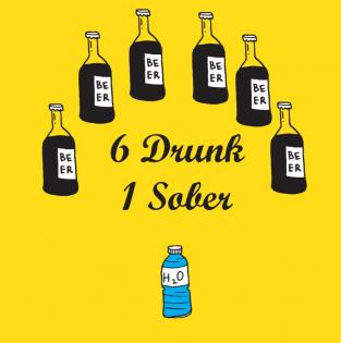 6 Drunk 1 Sober