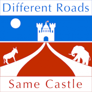 Different Roads, Same Castle