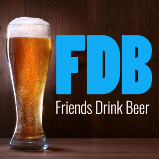 Friends Drink Beer