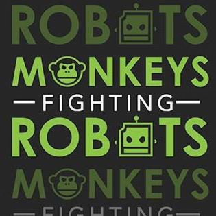 Monkeys Fighting Robots