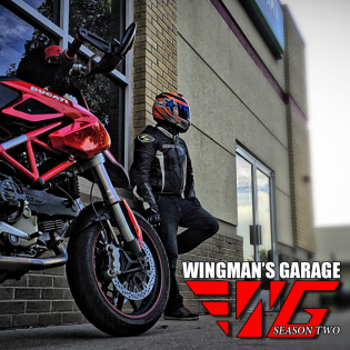 Wingman's Garage - A Motorcycle Podcast